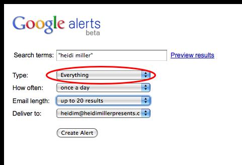 Google Alerts 2