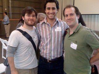 The Untitled crew: Aviel, Adam, Damon