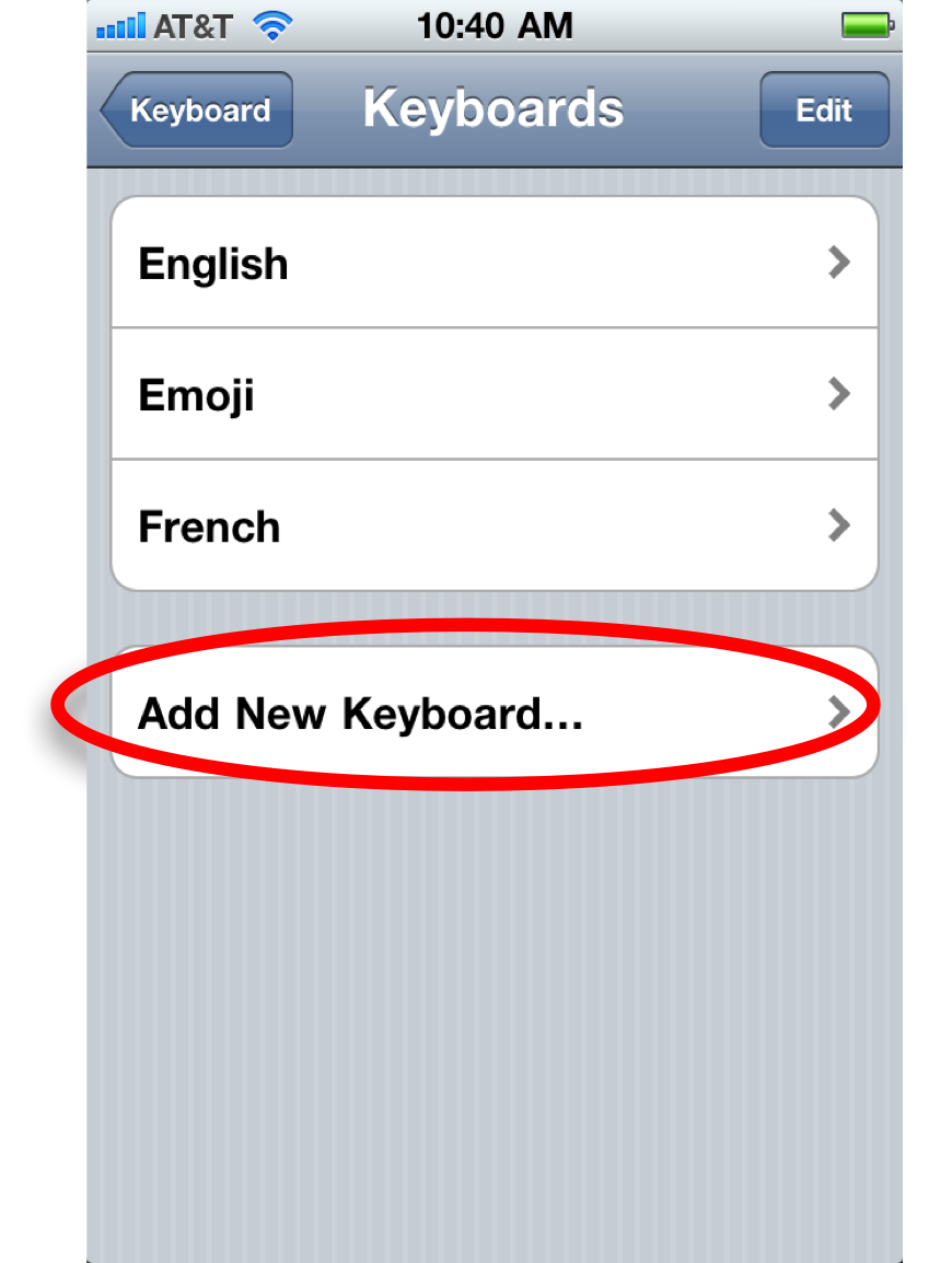 How to add a French keyboard to your iPhone - Talk It Up!