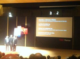 Interfaith Amigos at #TEDxRainier11