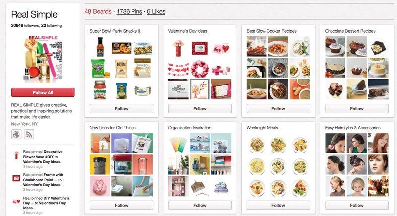 RealSimple Pinterest